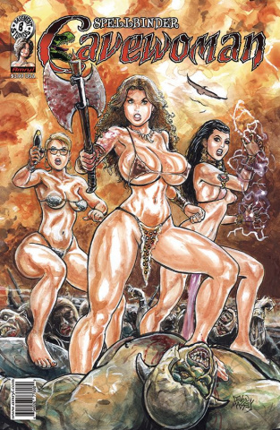 Cavewoman: Spellbinder #1 (Massey Cover)