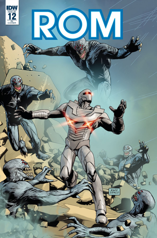 ROM #12 (10 Copy Cover)