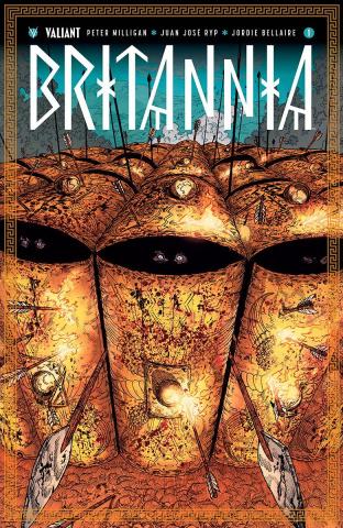 Britannia #1 (10 Copy Guinaldo Cover)