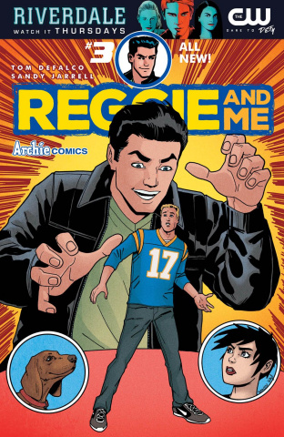 Reggie and Me #3 (Sandy Jarrell Cover)