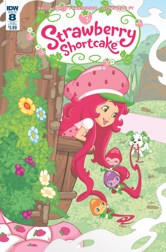 Strawberry Shortcake #8 (Subscription Cover B)