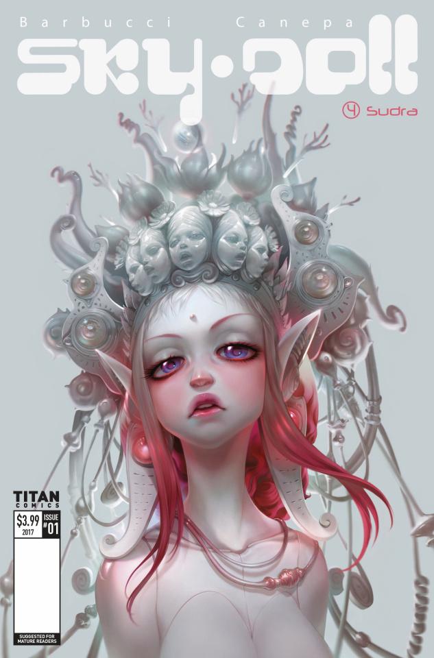 Sky Doll: Sudra #1 (Barbucci Cover)