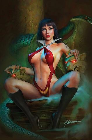 Vampirella #19 (Maer Virgin Cover)