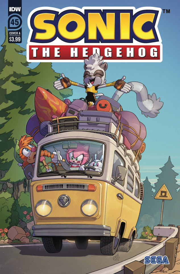 Sonic the Hedgehog #45 (Stanley Cover)