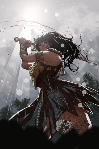 Xena: Warrior Princess #5 (20 Copy Stott Virgin Cover)