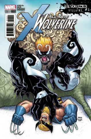 All-New Wolverine #24 (Venomized Sabretooth Cover)