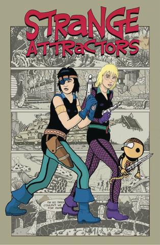 Strange Attractors #3 (Michael Cohen Cover)