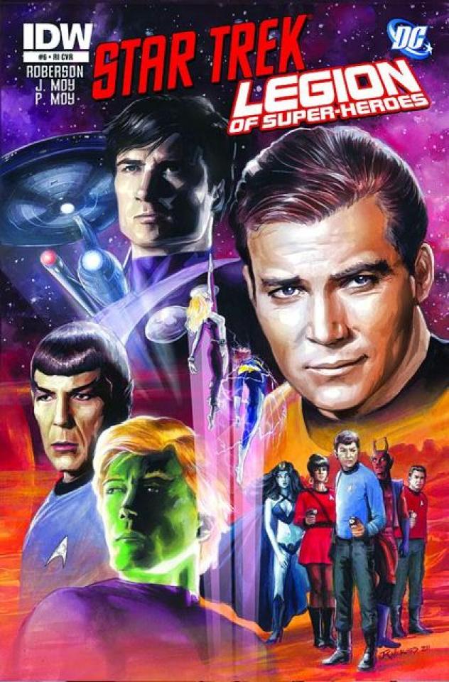 Star Trek / The Legion of Super Heroes #6