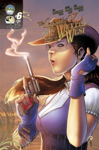 The Legend of Oz: The Wicked West #6 (Borges Cover)