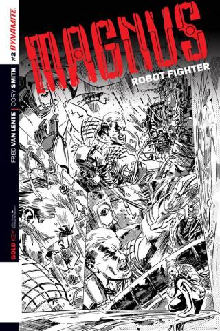Magnus, Robot Fighter #2 (2nd Printing)