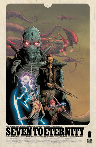 Seven to Eternity #1 (2nd Printing)