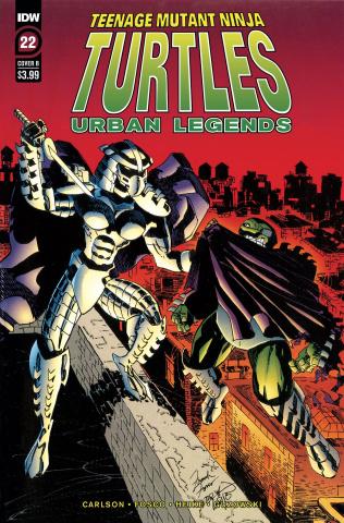Teenage Mutant Ninja Turtles: Urban Legends #22 (Fosco & Larsen Cover)
