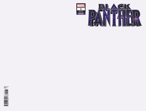 Black Panther #1 (Blank Cover)