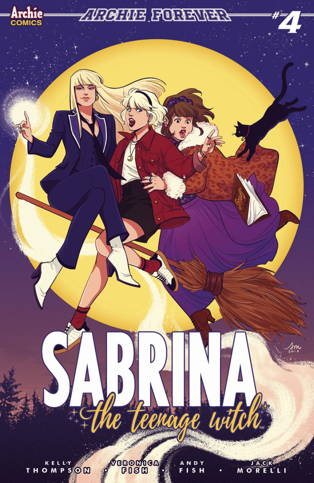 Sabrina, The Teenage Witch #4 (Mok Cover)