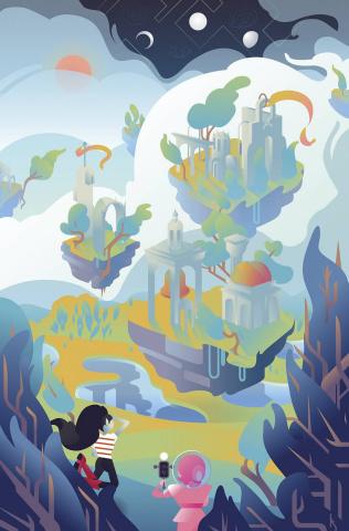 Adventure Time: Marceline Gone Adrift #5 (Subscription Stanton Cover)