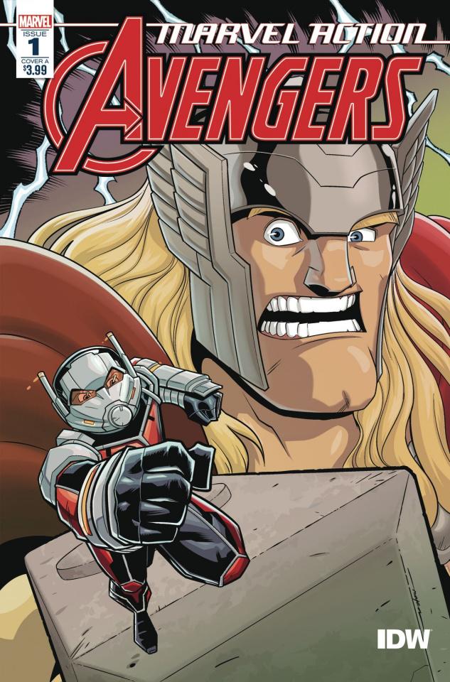 Marvel Action: Avengers #1 (Mapa Cover)