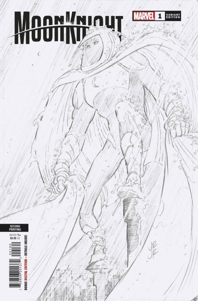 Moon Knight #1 (Romita Jr 2nd Printing)