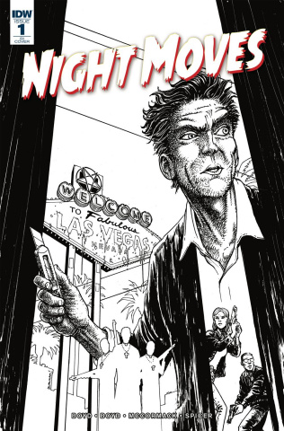 Night Moves #1 (10 Copy Burnham Cover)