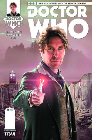 Doctor Who: New Adventures with the Eighth Doctor #2 (Subscription Cover)