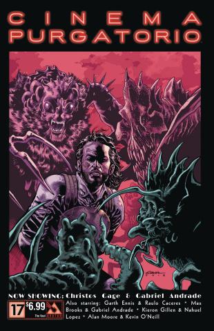 Cinema Purgatorio #17 (Vast Cover)