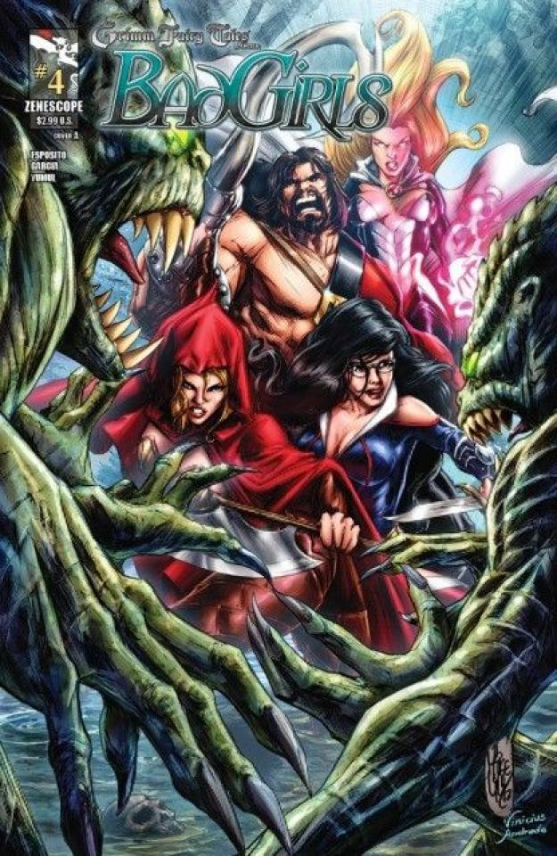 Grimm Fairy Tales: Bad Girls #4