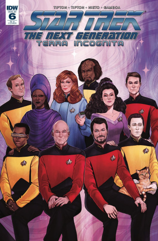 Star Trek: The Next Generation - Terra Incognita #6 (10 Copy Beals Cover)