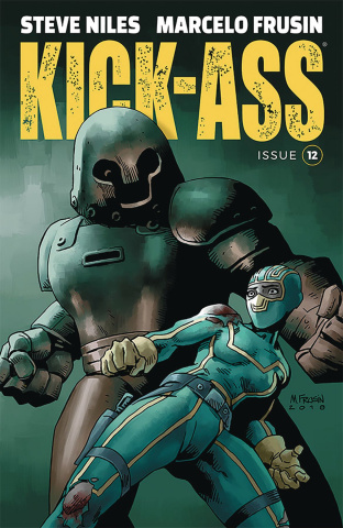 Kick-Ass #12 (Frusin Cover)