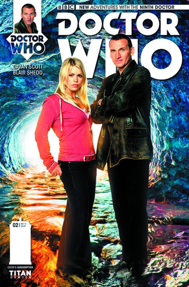 Doctor Who: New Adventures with the Ninth Doctor #2 (Subscription Photo Cover)