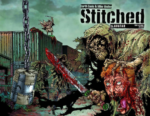 Stitched #8 (Wrap Cover)