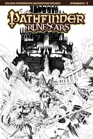 Pathfinder: Runescars #1 (10 Copy Lau B&W Cover)