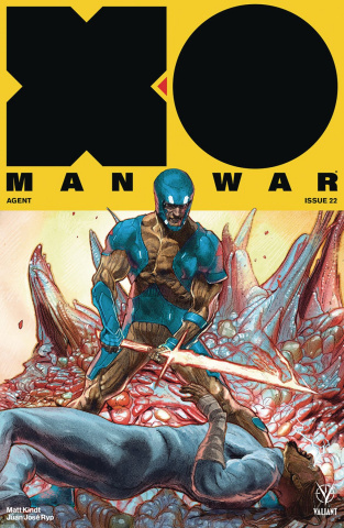 X-O Manowar #22 (20 Copy Interlocking Guede Cover)