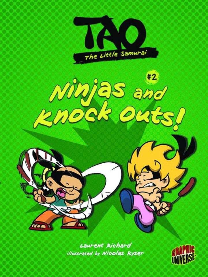 Tao: The Little Samurai #2: Ninjas & Knock Outs!