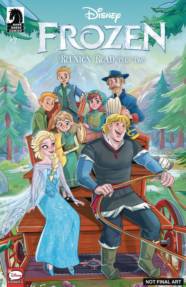 Frozen: Reunion Road #2 (Russo Cover)