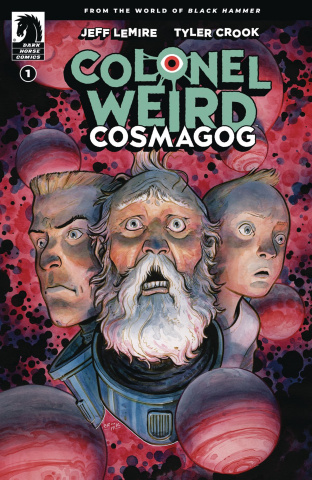 Colonel Weird: Cosmagog #1 (Crook Cover)