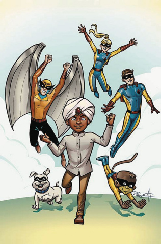 Future Quest #6 (Variant Cover)