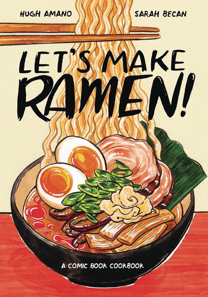 Let's Make Ramen! A Comic Book Cookbook