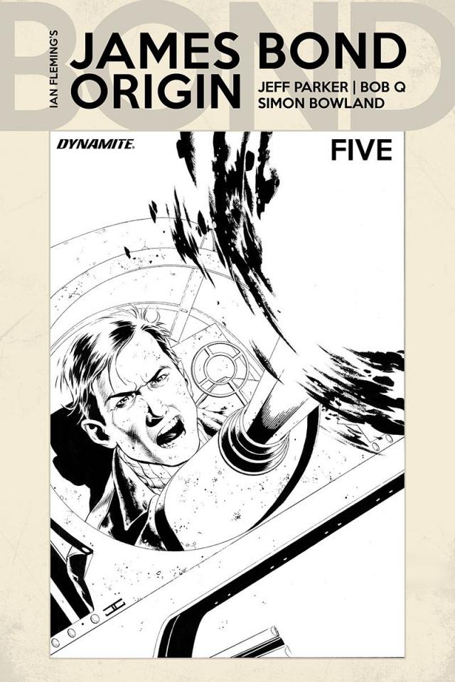 James Bond: Origin #5 (10 Copy Cassaday B&W Cover)