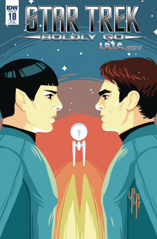 Star Trek: Boldly Go #18 (10 Copy Cover)