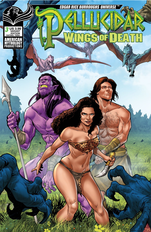 Pellucidar: Wings of Death #3 (Carratu Cover)
