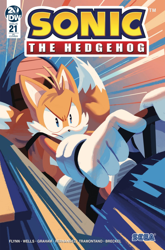 Sonic the Hedgehog #21 (10 Copy Fourdraine Cover)
