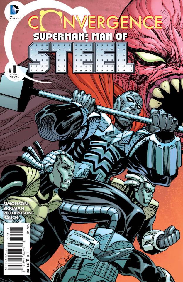Convergence: Superman - Man of Steel #1