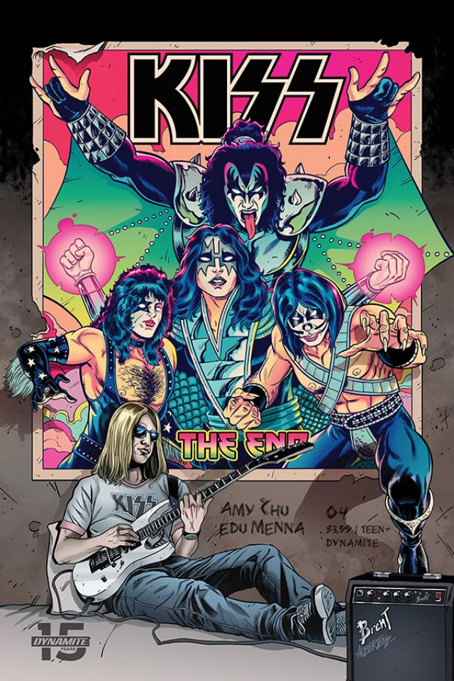KISS: The End #4 (Schoonover Cover)