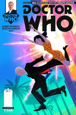 Doctor Who: New Adventures with the Twelfth Doctor #10 (Hughes Cover)