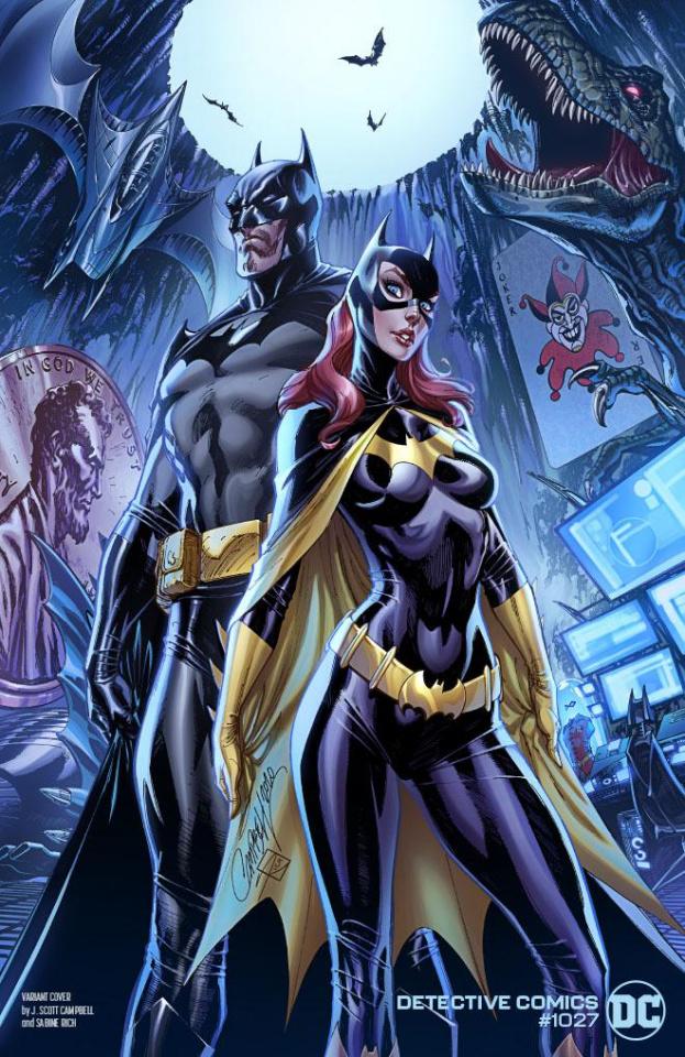 Detective Comics #1027 (J Scott Campbell Batman Batgirl Cover)