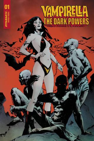 Vampirella: The Dark Powers #1 (20 Copy Lee Vampi Demons Cover)