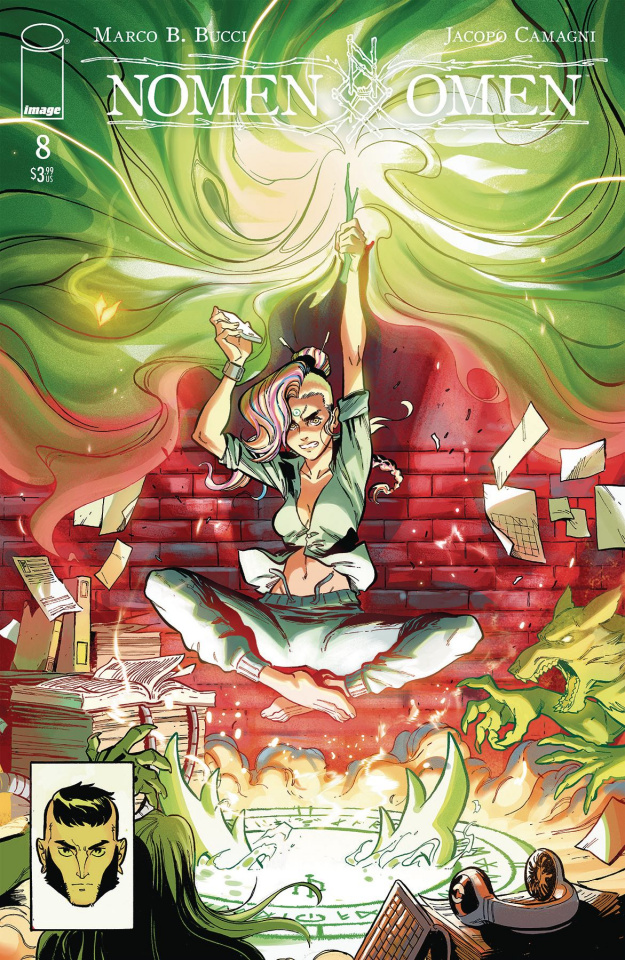 Nomen Omen #8 (Camagni Cover)
