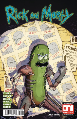 Rick and Morty #37 (Vasquez Cover)