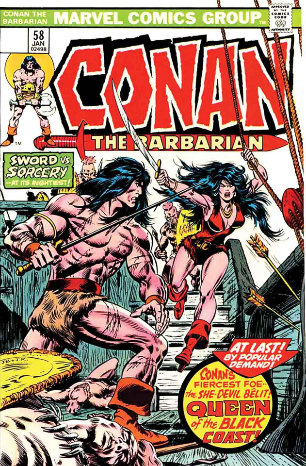 Conan: Queen of the Black Coast #1 (True Believers)