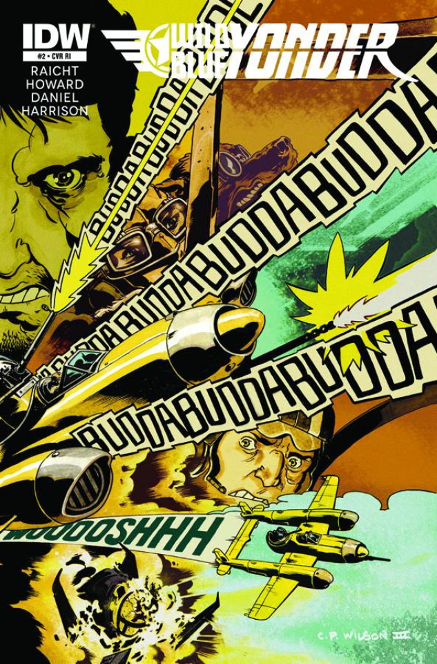 Wild Blue Yonder #2 (10 Copy Cover)