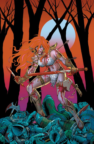 The Invincible Red Sonja #5 (Conner Virgin Cover)